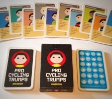 jugendstilBikes.de - Radsportlerquartett ProCyclingTrumps