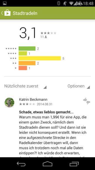 jugendstilBikes.de Stadtradeln App