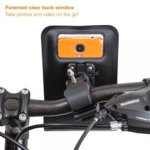 RideMate Rückseite - ob das Fenster auch beim iPhone 6 passt?