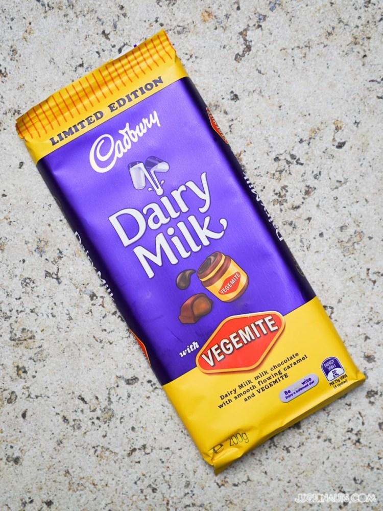 Cadbury Chocolate Vegemite