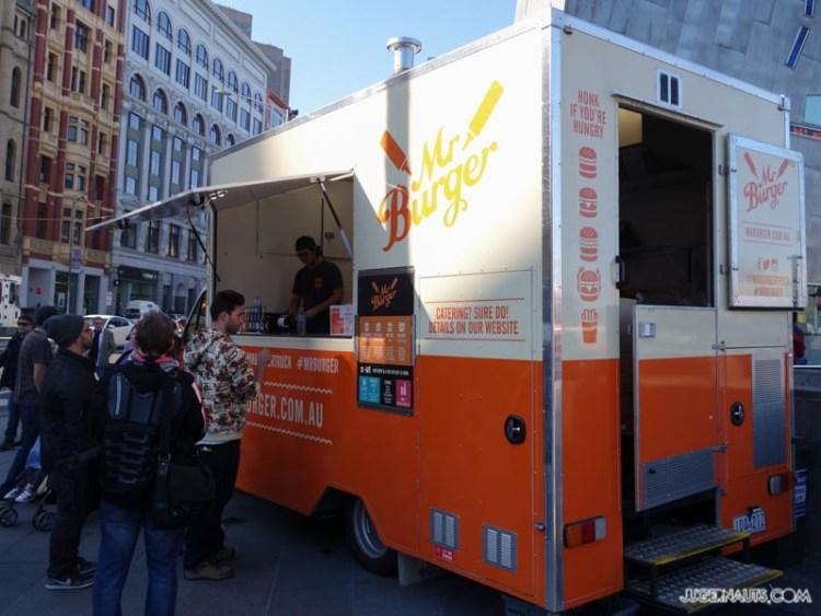 Mr Burger Melbourne Foodtruck (2)