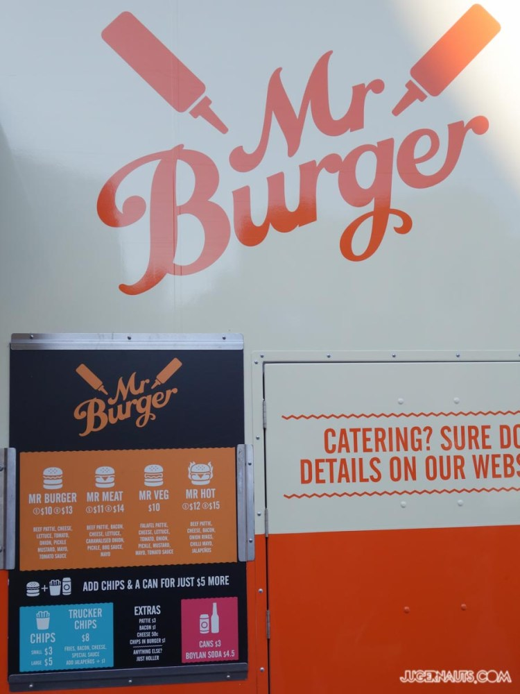 Mr Burger Melbourne Foodtruck (8)