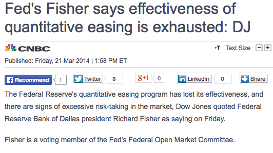 Fisher headline Mar 21 2014
