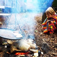 Glamping in Style with MooMoo Children's Ponchos