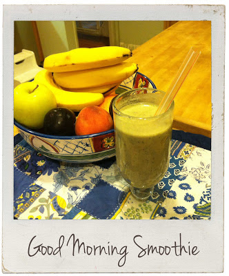Juggling Real Food and Real Life Presents: Lil Bit of Mama Time's Good Morning Smoothie