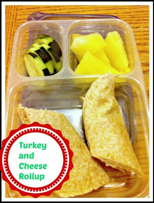 Turkey and Cheese Rollup