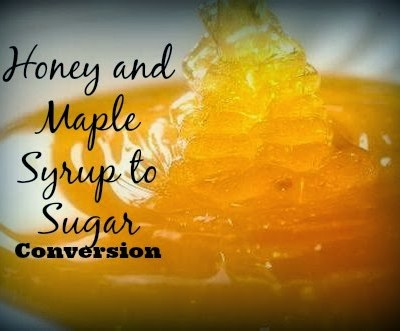 How -To Guide For Substituting Honey and Maple Syrup For Sugar In Baking – Juggling Real Food and Real Life