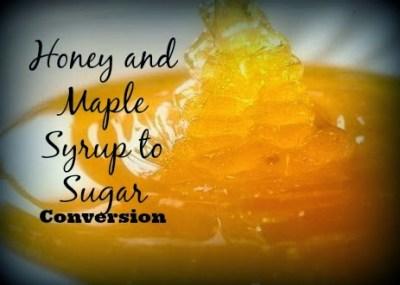Converting Sugar to Natural Sweeteners.