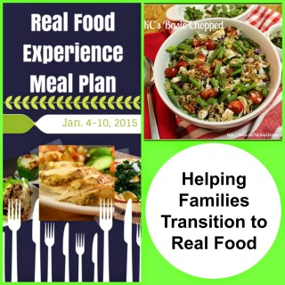 Recipe Resources To Help Families Tranisition To Real Food