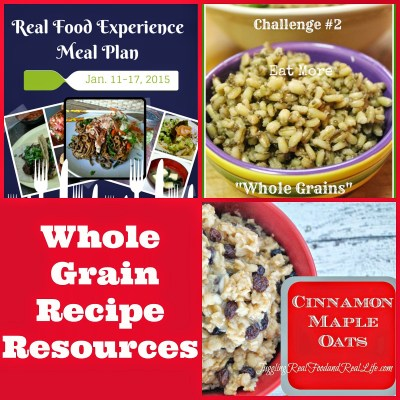 Whole Grain Recipe Resources
