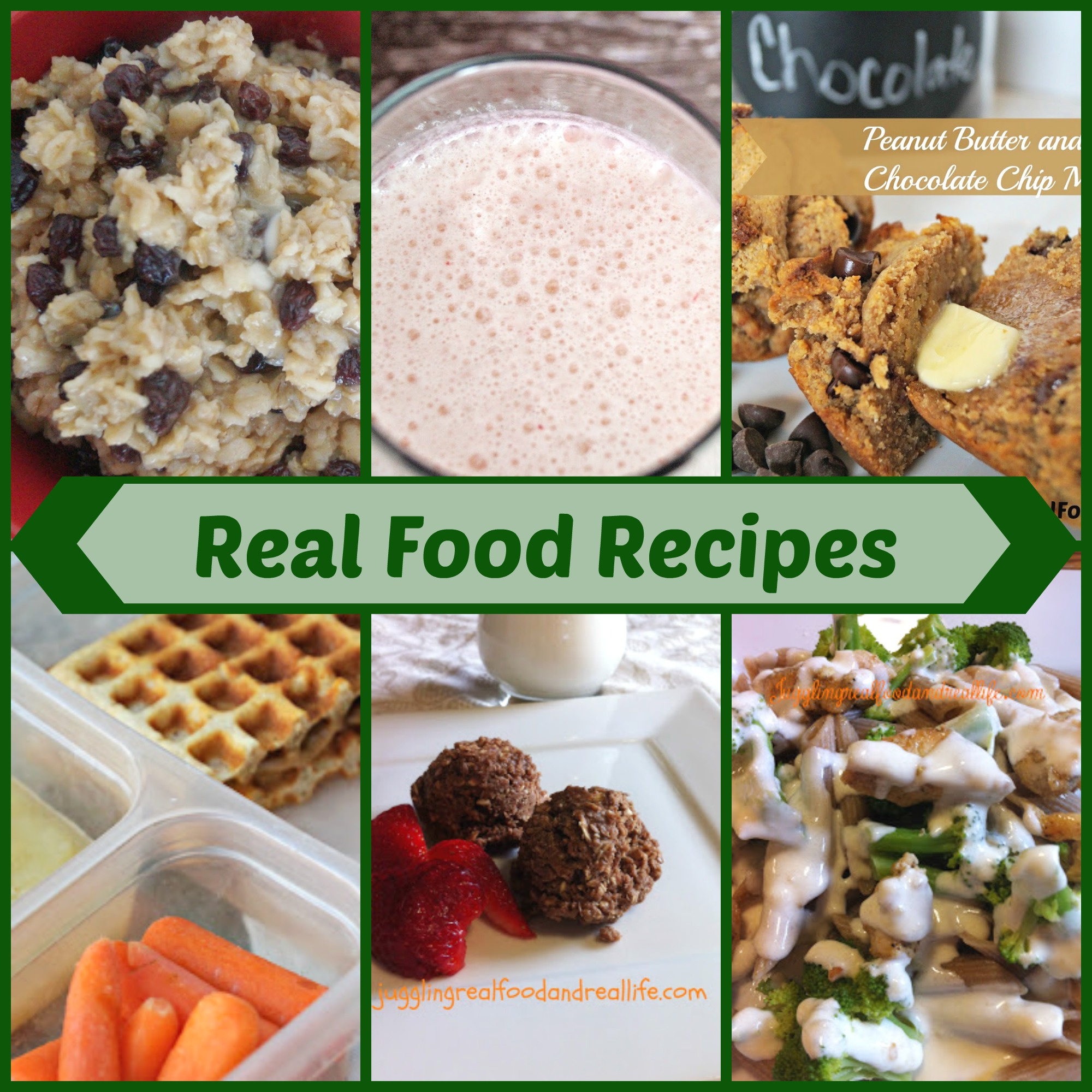 Easy real food recipes index juggling real food and real life forumfinder Gallery