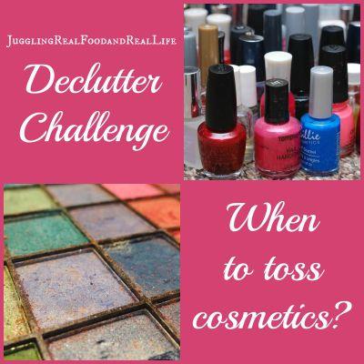 Declutter Challenge: When to Toss Cosmetics