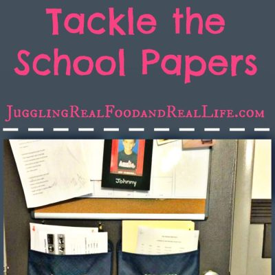 Back-To-School Organization in a Snap!