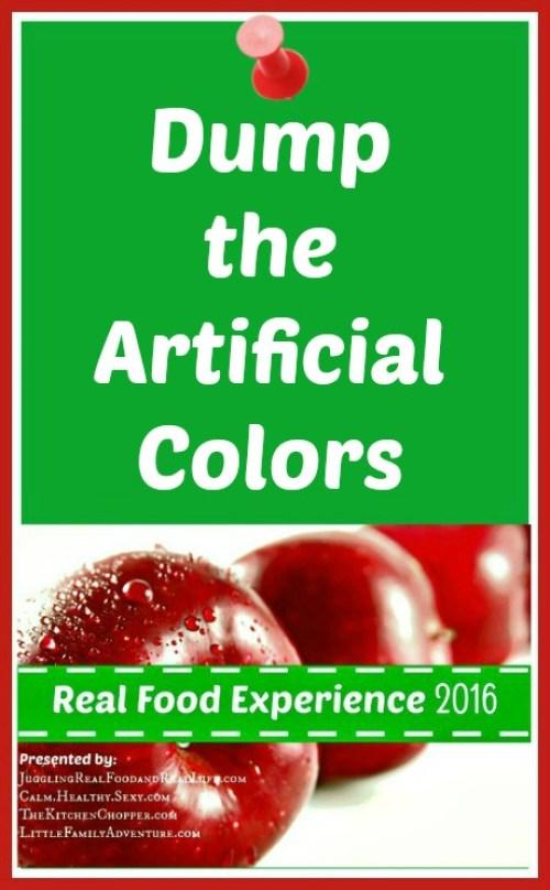 Dump the Artificial Colors