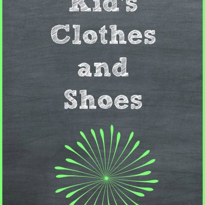 Decluttering Kids Clothes and Shoes