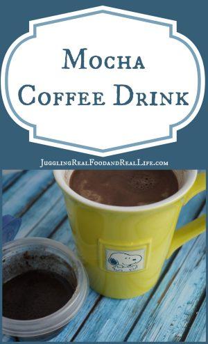 Mocha Coffee Drink