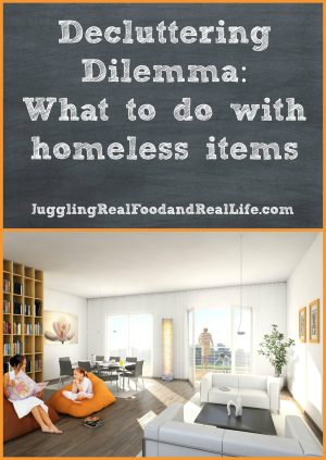 Decluttering-Homeless-Items