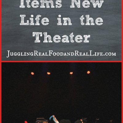 Give Your Decluttered Items New Life in the Theater