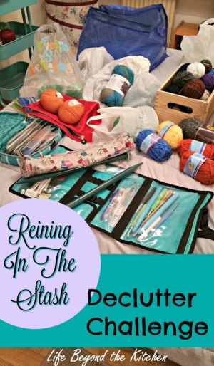 Decluttering Craft Supplies