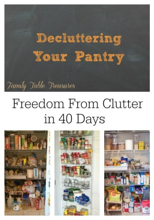 Decluttering-Your-Pantry