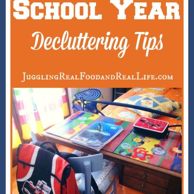 End of the School Year Decluttering Tips