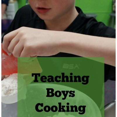 Teaching Boys Cooking Skills