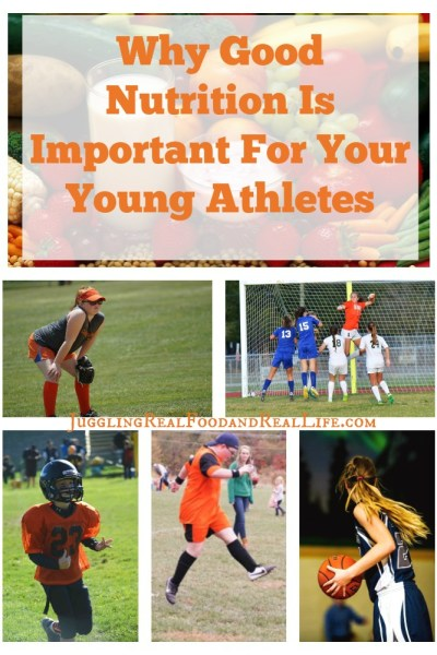 Why Good Nutrition Is Important For Your Young Athletes