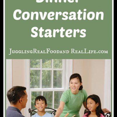 Family Dinner Conversation Starters
