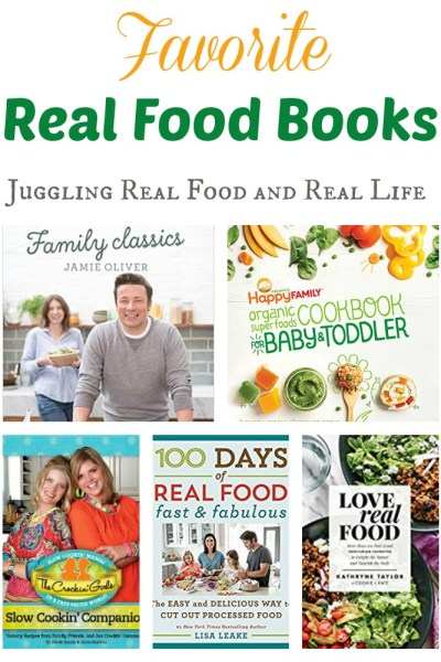 Favorite Real Food Books