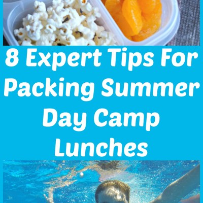 8 Expert Tips For Packing Summer Day Camp Lunches