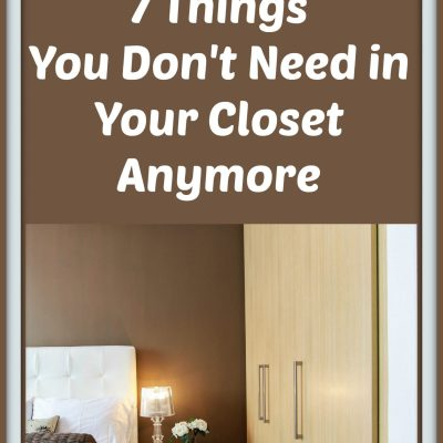 Declutter Challenge:  7 Things You Don't Need in Your Closet Anymore