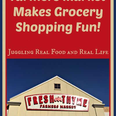 Fresh Thyme Farmers Market Makes Grocery Shopping Fun!