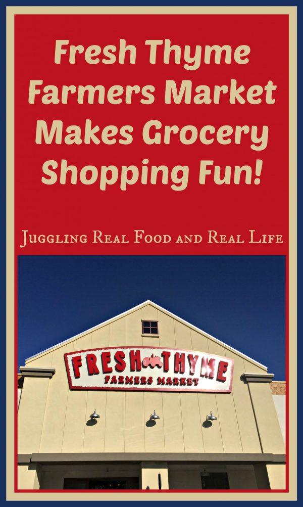 Fresh Thyme Farmers Market Makes Grocery Shopping Fun