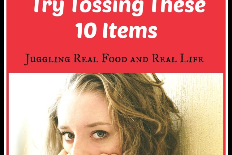 Too Stressed to Declutter?  Try Tossing These 10 Items