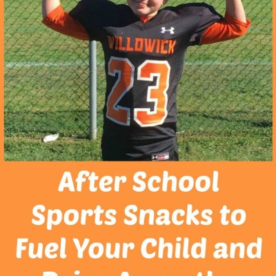 "After School Sports Snacks to Fuel Your Child and Drive Away the ""Hangry"""