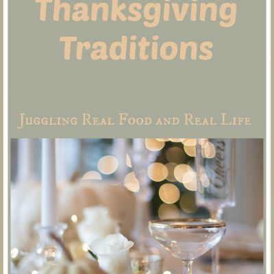 From The Heart:  Thanksgiving Memories