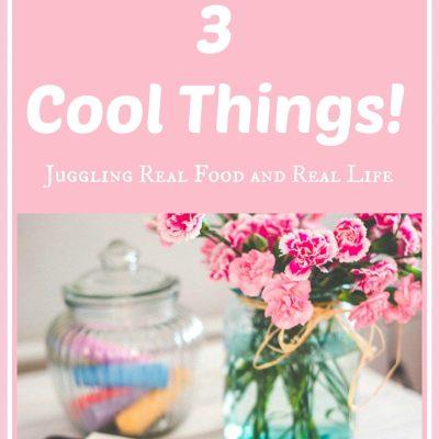 Juggling's 3 Cool Things!
