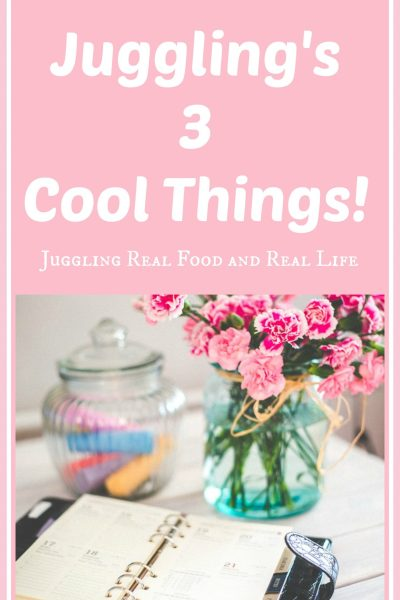 Juggling's 3 Cool Things!