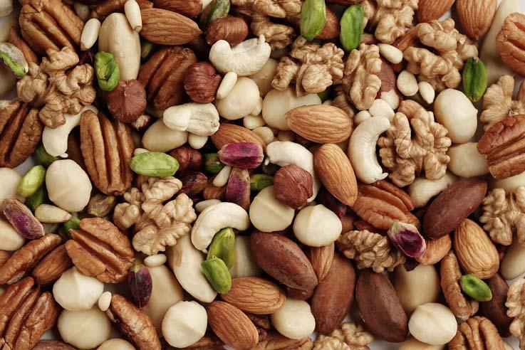 mixed nuts kernels