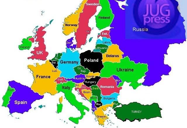 Evropa Sve Naseljenija Stanovnistvo Se Seli Sa Istoka Na Zapad