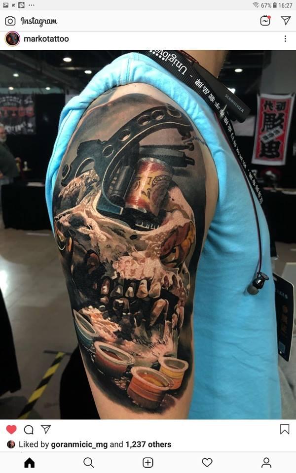 Leskovčanin najbolji na festivalu tattoo umetnosti u Šangaju