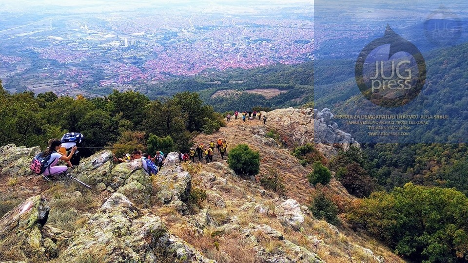 Održan vranjski planinarski maraton