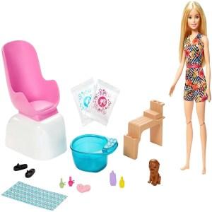 Barbie Fashionista Pedicure Salón