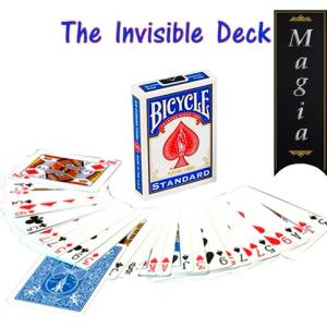 Juego Magia Truco Baraja Invisible Bicycle Rojo Azul
