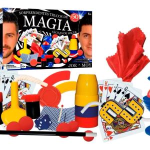 Juego De Magia Joe Y Moy · Mas De 50 Trucos