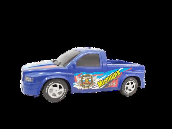 camioneta de policia para niños
