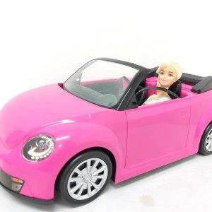 Carro Rosado con Muñeca