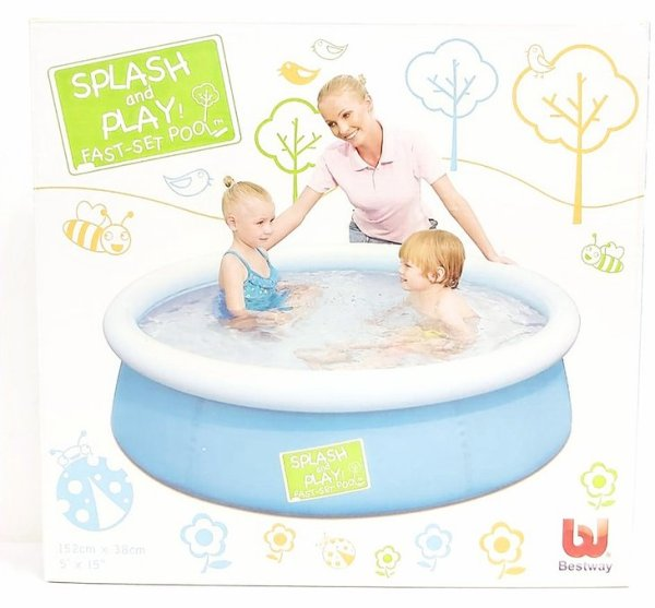 Piscina inflable splash and play