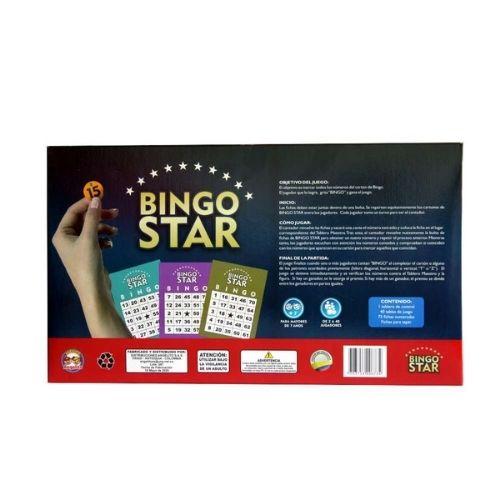 BINGO_STAR_40_CARTONES_JUGUETES_EN_MEDELLIN