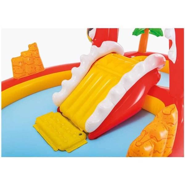 Centro de juegos inflable Happy Dino Play Intex